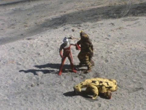 エレキング・キーラー・ウルトラセブン三つ巴の戦いへ