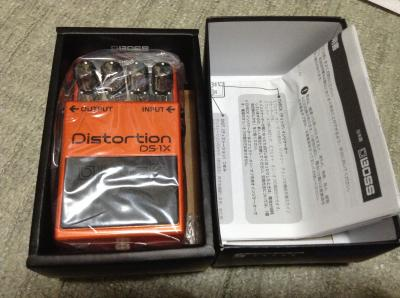 DS-1Xの箱開けてみた