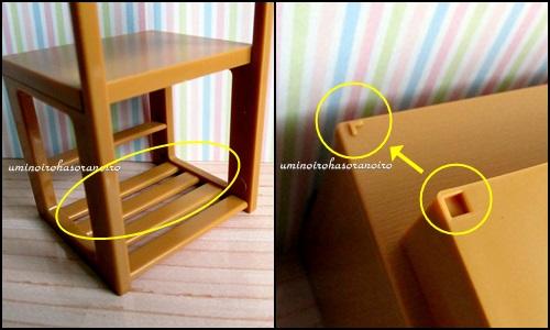 3椅子&机 本棚ポッチ