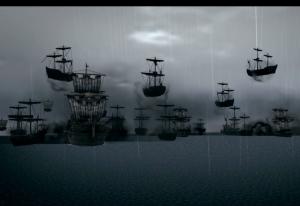 黒い幽霊船団