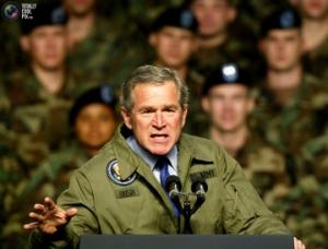 ブッシュ大統領 W