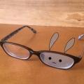 ウサギ眼鏡