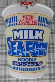 カップヌードル ミルクシーフードヌードル