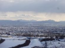 札幌ドーム方向