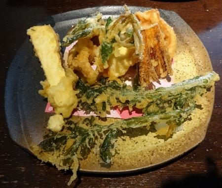 鶏天の天ぷら