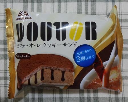 ドトール カフェ・オ・レ クッキーサンド  59円