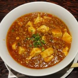 麻婆豆腐あんかけ(湯麺で) 1080 円