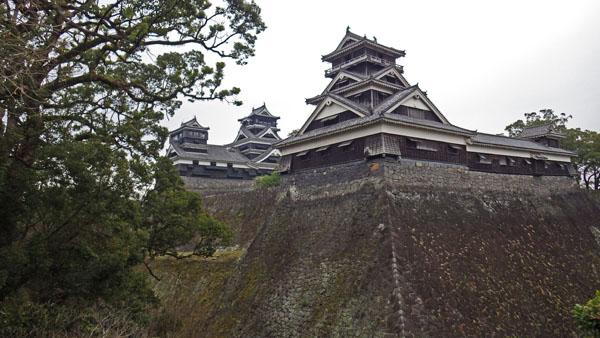宇土櫓と天守閣