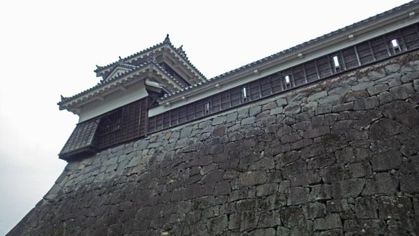 本丸北西端に建つ宇土櫓