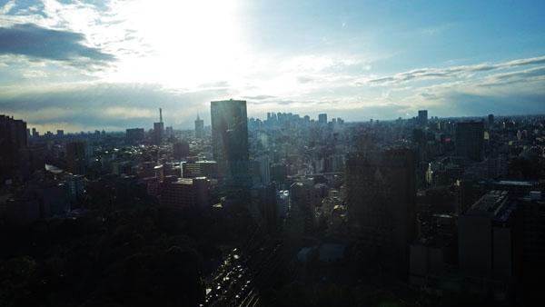 新宿 高層ビリ方面