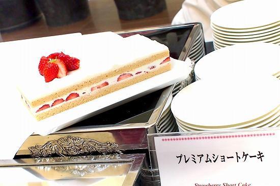 プレミアムショートケーキ01@東京ベイ舞浜ホテル FINE TERRACE 2016年02月