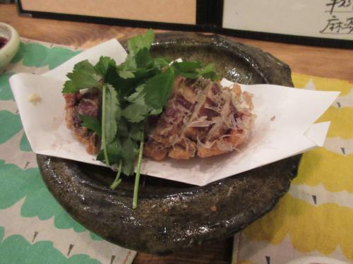 椎茸の天ぷら