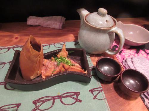 竹の子 醤油焼きで日本酒にチェンジ