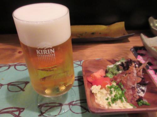 竜田揚げにはビール