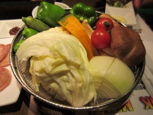 野菜全部盛