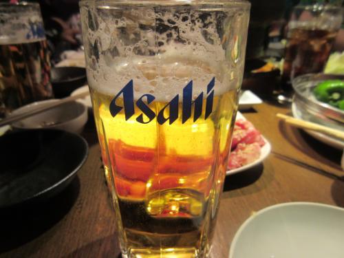 札幌でなぜかASAHI