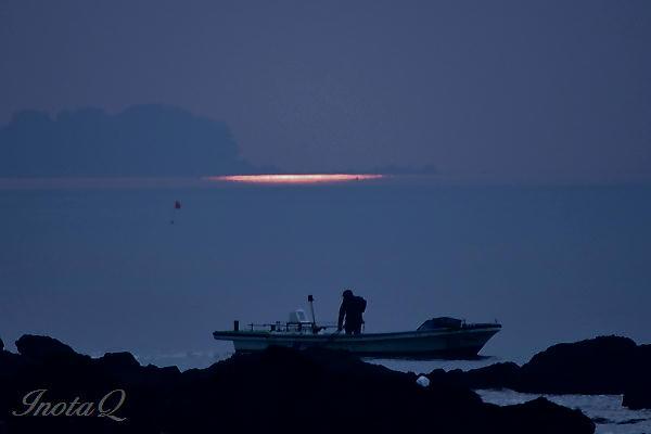 陽光と漁02