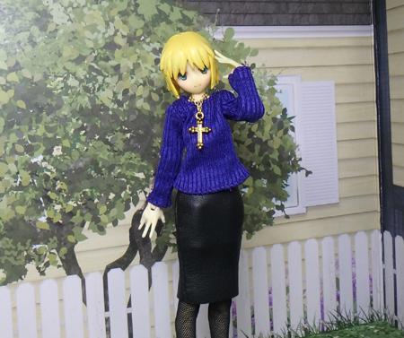 28_03_30 黒のタイトスカート1