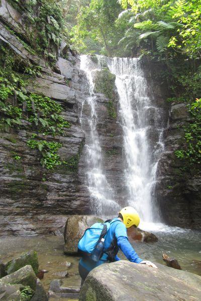 ゲータの滝に着いた