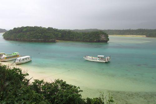 川平湾の景観