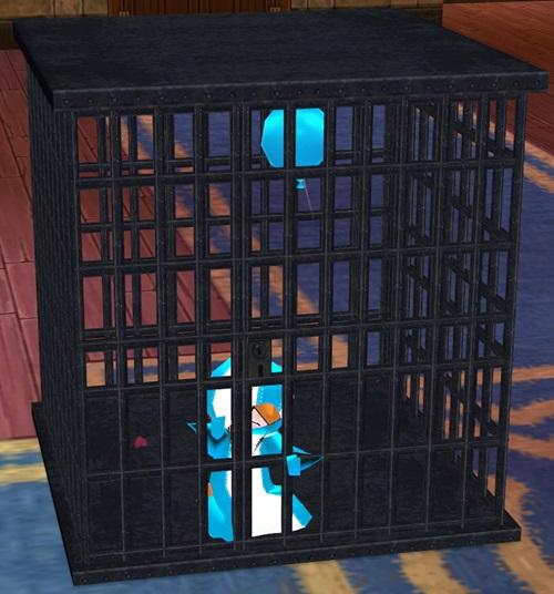 水族館 寂しい監獄 モーション