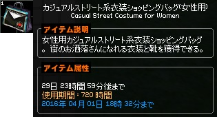 女性用 カジュアルストリート系衣装ショッピングバッグ 3-horz