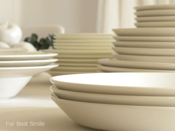 05>食器の片づけ開始!【白いお皿編】
