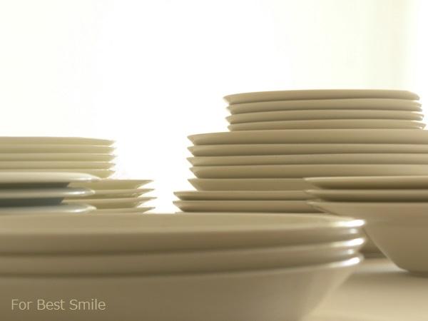 06>食器の片づけ開始!【白いお皿編】
