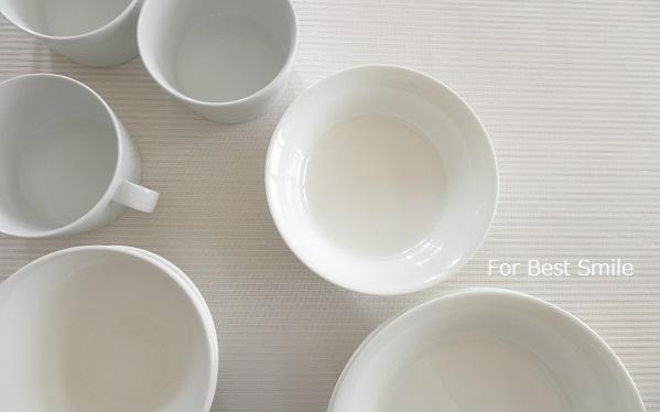 08>深さのある白い食器の見直し・片づけ・収納