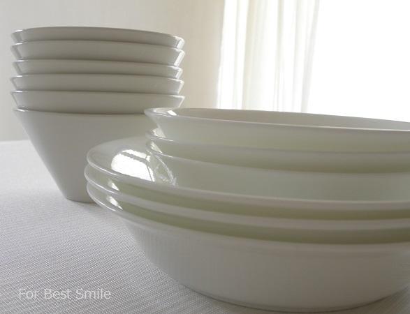 09>深さのある白い食器の見直し・片づけ・収納
