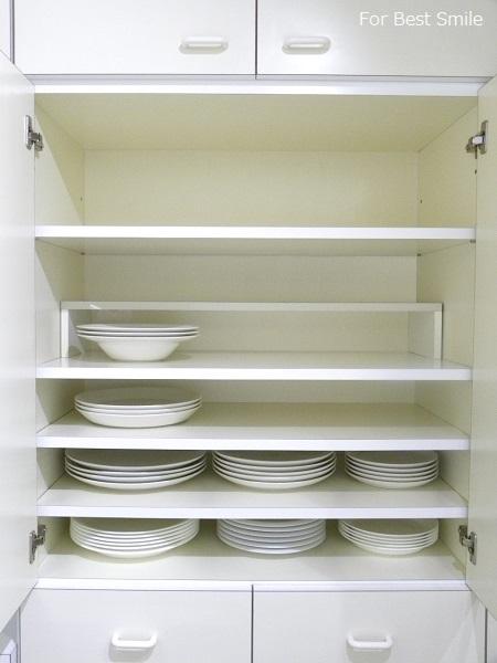 15>深さのある白い食器の見直し・片づけ・収納