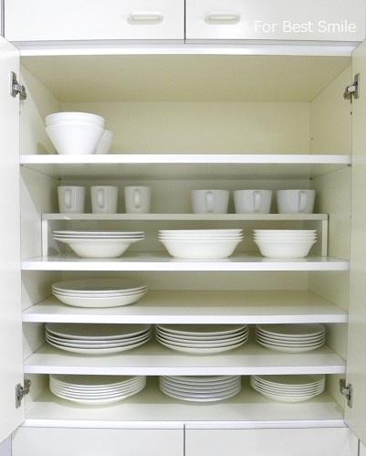 16>深さのある白い食器の見直し・片づけ・収納