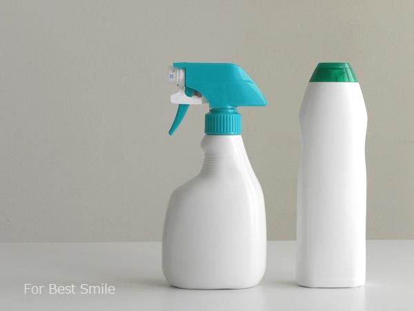 02>お掃除用洗剤のシンプル化