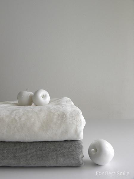 01>無印良品の綿シール織毛布