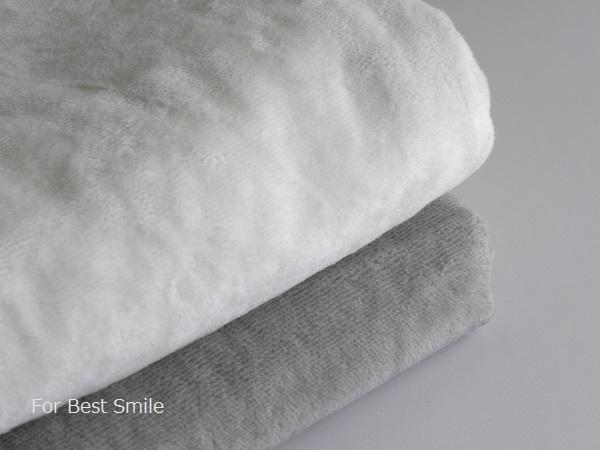 04>無印良品の綿シール織毛布
