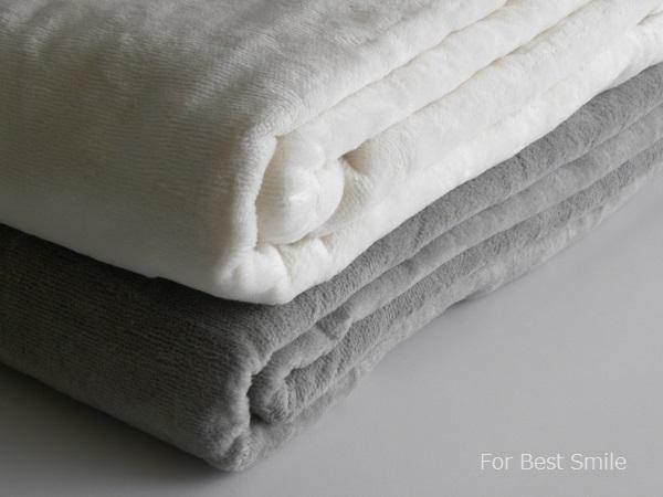 05>無印良品の綿シール織毛布