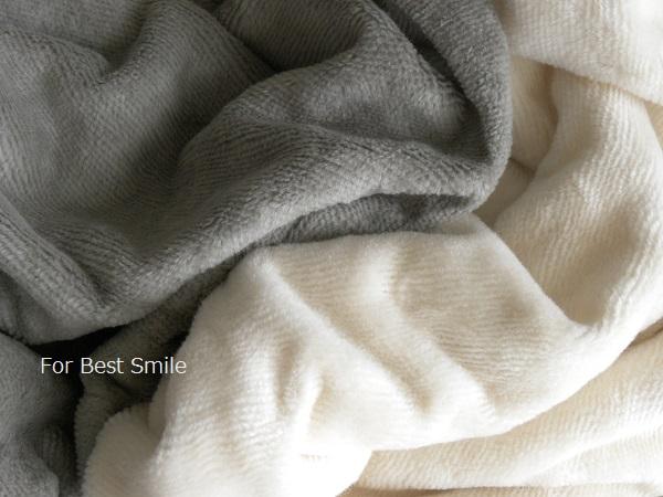06>無印良品の綿シール毛布