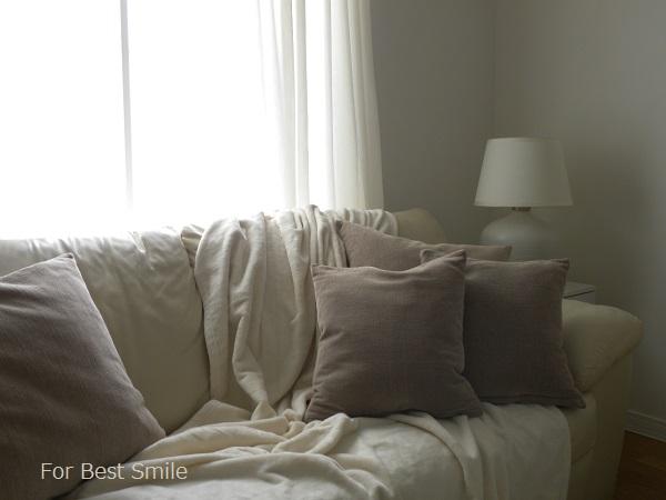 07>無印良品の綿シール織毛布