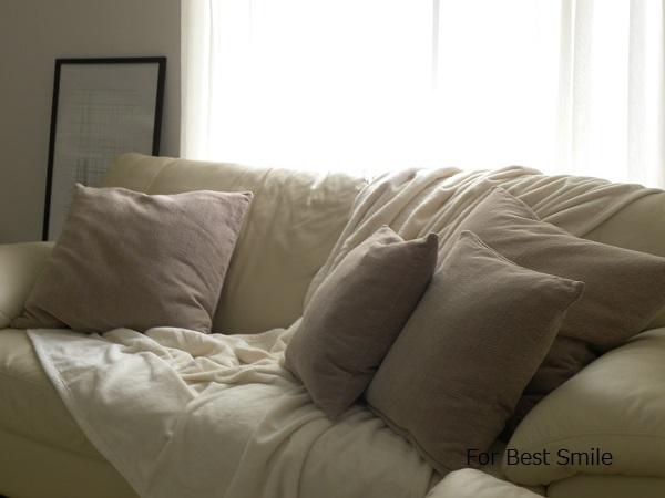 08>無印良品の綿シール織毛布