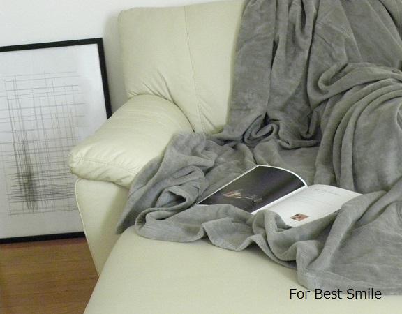 11>無印良品の綿シール織毛布