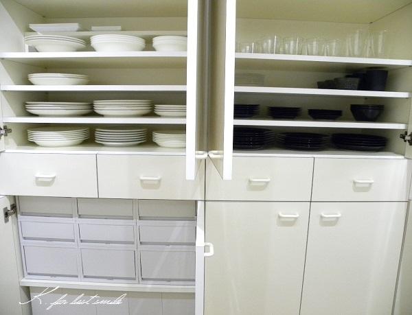 05>食器棚の収納・片付け終了