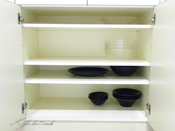 06>食器棚の収納・片付け終了