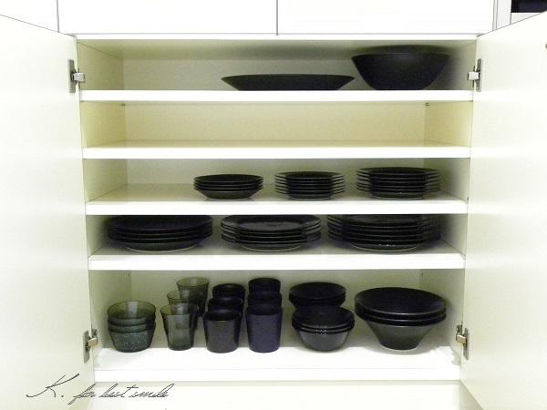 09>食器棚の収納・片付け終了