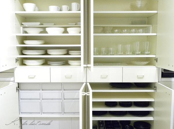 10>食器棚の収納・片付け終了