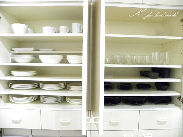 11>食器棚の収納・片付け終了