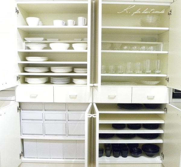 12>食器棚の収納・片付け終了