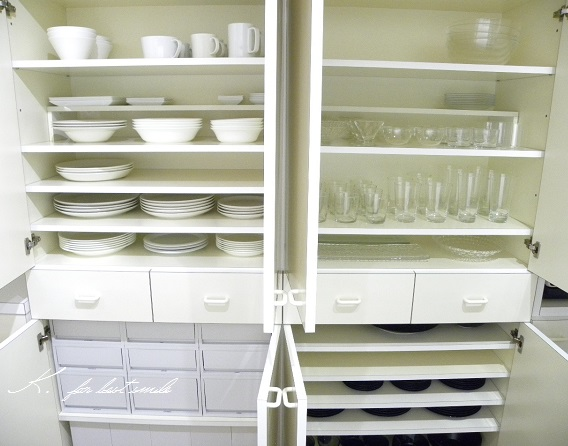 13>食器棚の収納・片付け終了