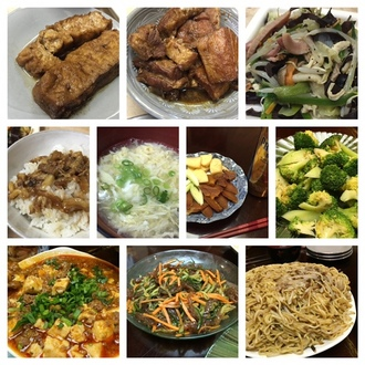 リンさんの手料理。