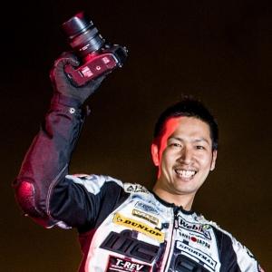 東京モーターサイクルショー 小川選手 (1)