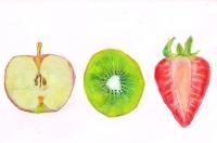 リンゴ/キュウイ/イチゴ